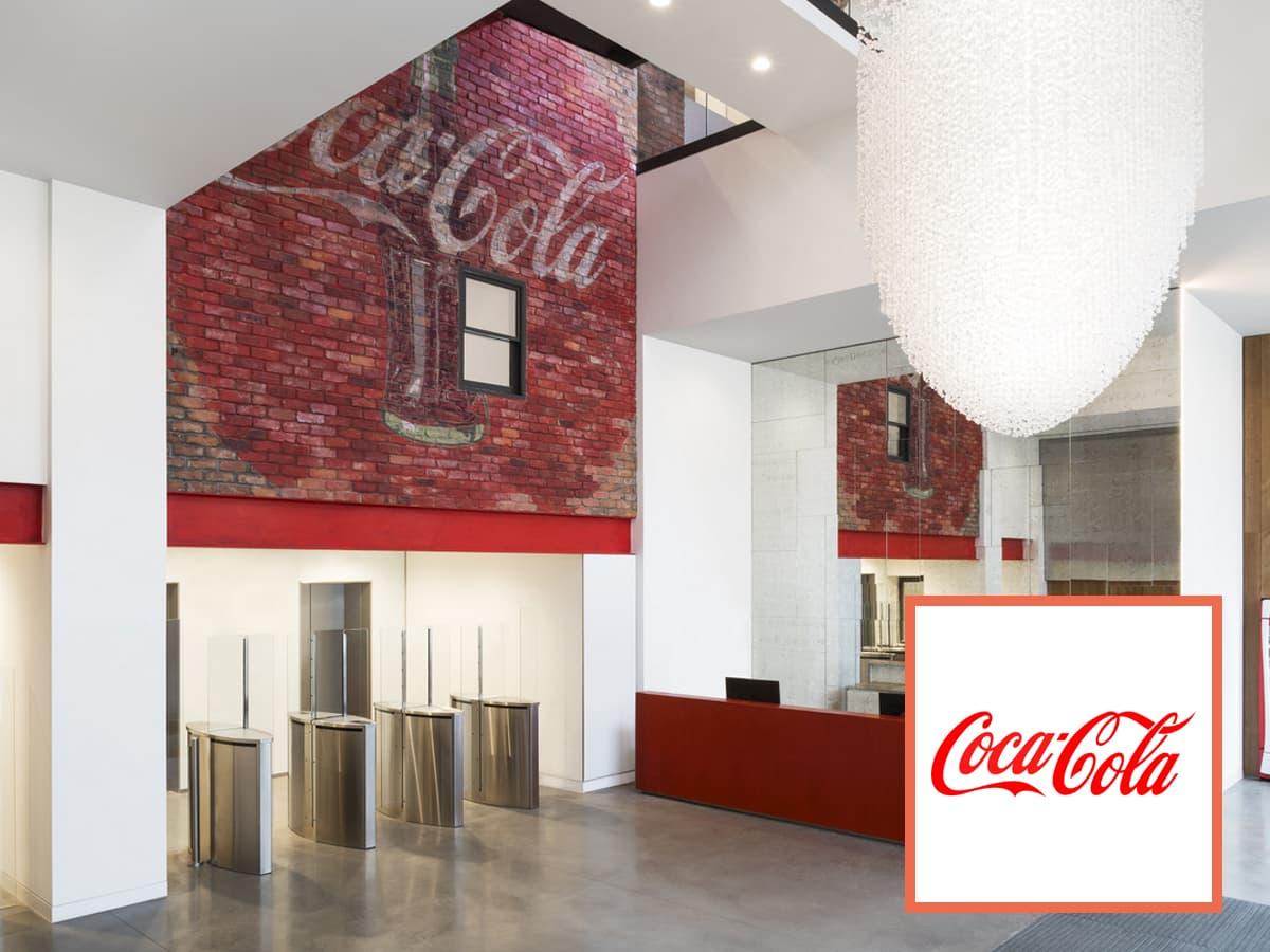 Coca Cola Company Banner